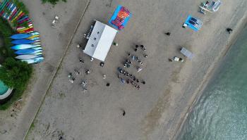 びわ湖クルーレスボート大会