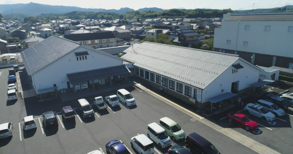 滋賀県 日野町 公民館屋舎・日野町民運動会 ドローン空撮