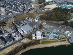 滋賀県草津市 浄水施設工事 着工前状況撮影