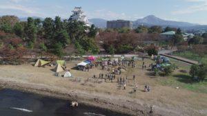 滋賀県長浜市 ツイードピクニック長浜 ドローン空撮
