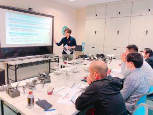 2019年1月30,31日 国交省認定講習ドローンフライトオペレーターを実施しました