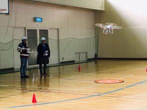 2019年2月22日 ドローンアフター飛行実技スクールを実施しました