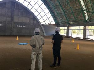 2019年8月9日 ドローンアフター飛行実技スクールを実施しました