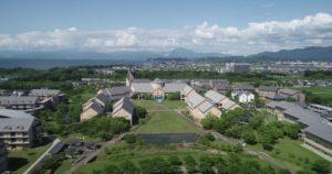 滋賀県彦根市 滋賀県立大学様 プロモーションビデオ用 ドローン空撮