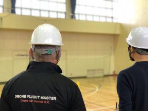 2019年10月25日 ドローンアフター飛行実技スクールを実施しました