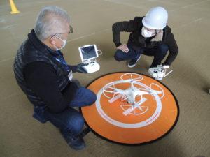 2020年4月3日 ドローンアフター飛行実技スクールを実施しました